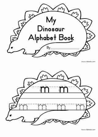 printable dinosaur alphabet my dinosaur alphabet books