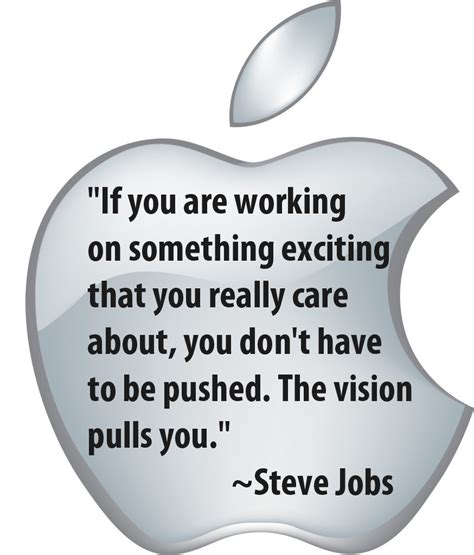 apple vision the quot vision quot and quot caring quot that pulled steve jobs were
