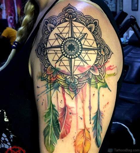 tattoo mandala dreamcatcher 75 trendy mandala tattoos for shoulder
