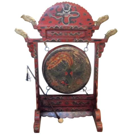 Styles Of Furniture For Home Interiors large antique chinese temple gong for sale at 1stdibs