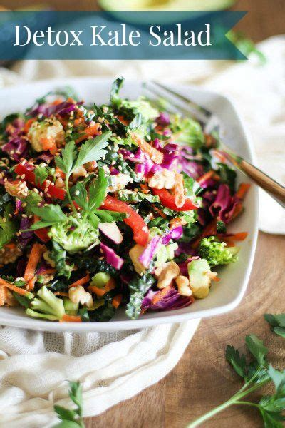 Kale Detox Diet detox kale and every day on