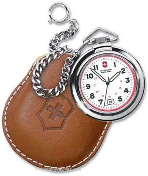 Swiss Army Tr03 Leather Kw swiss army pocket with chain and leather pouch modern pocket watches