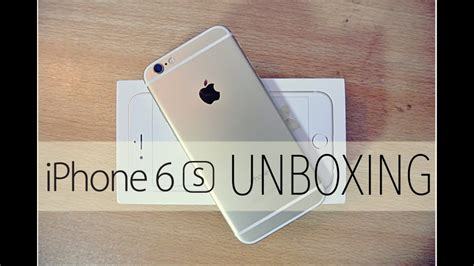 iphone 6s gold unboxing setup look hd