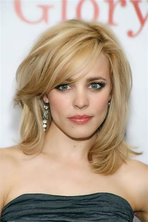 haircuts for slim faces 25 hairstyles to slim down a round face bangs side