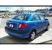 2008 Kia Rio LX Sedan In Sapphire Blue Photo No 6002605