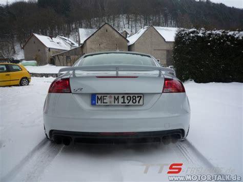 Audi Tt 8j Heckspoiler by Weiss Tts Mit Ttrs Heckspoiler Audi Tt 8j 203660745