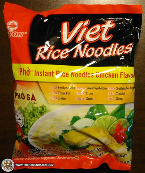 Diskon Vifon Pho Viet Rice Noodles Chicken Flavor 65g 873 vifon viet rice noodles pho ga chicken flavor the ramen rater