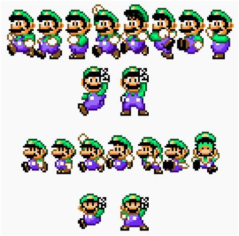 the sprites of life a super mario world project supper mario broth the difference between luigi s