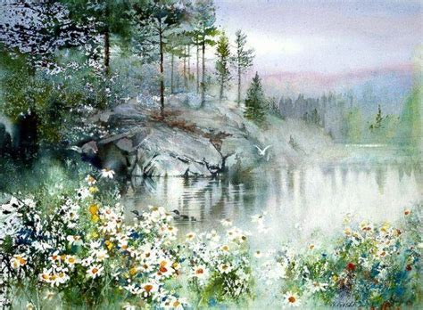 tutorial lake tableau 407 best images about пейзаж landscape in art on