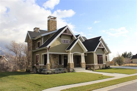 craftsman house exterior side exterior craftsman exterior salt lake city by