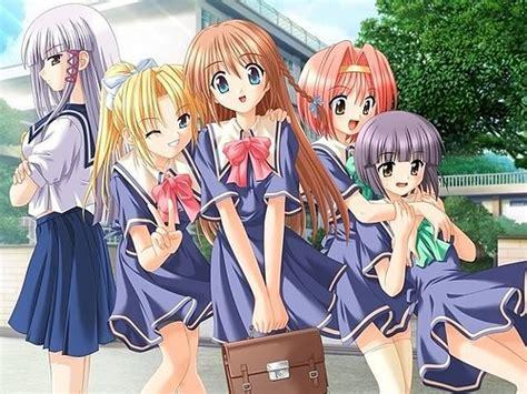 five 4 school anime at school mayumi hatsumi flickr