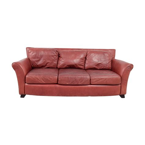 Palliser Leather Sofas 90 palliser palliser leather three cushion sofa