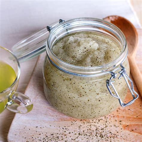 Thankscrub Greentea the diy green tea scrub clipper teas