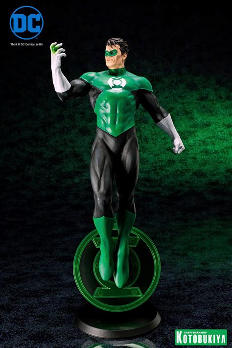 Artfx Kotobukiya dc comics green lantern artfx statue production update