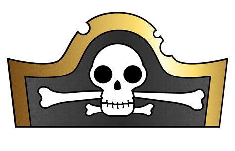 pirate hat template pirate hat template for