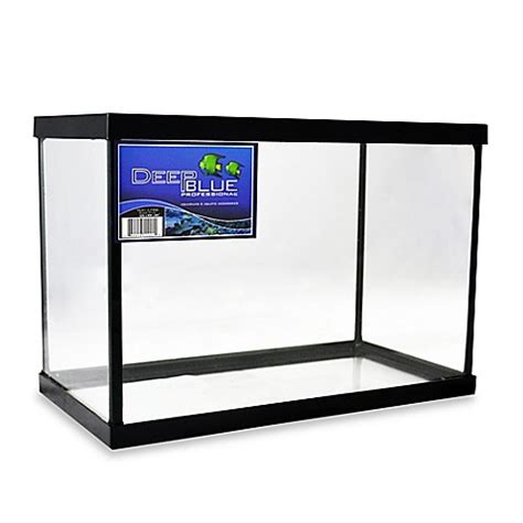 fish tank bed frame buy deep blue professional 2 5 gallon fish tank with black frame from bed bath beyond