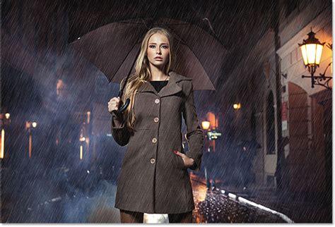 tutorial photoshop cs5 rain effect photoshop weather effects rain