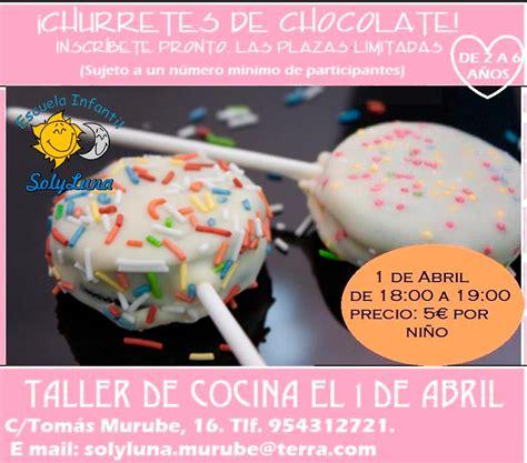 talleres de cocina sevilla taller de cocina escuela infantil solyluna guarder 237 a