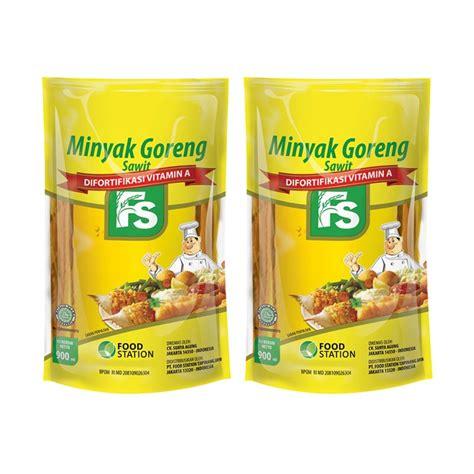 Minyak Goreng Lotte Mart jual fs pouch minyak goreng 900 ml 2 pcs harga