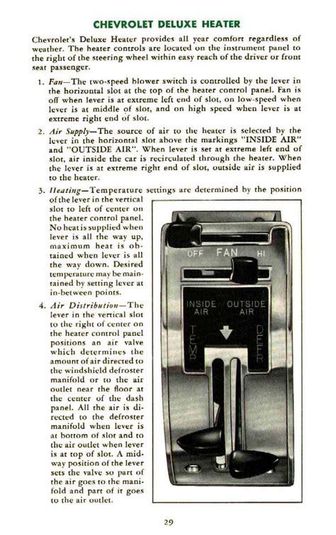 old car repair manuals 1955 chevrolet corvette user handbook directory index chevrolet 1955 chevrolet 1955 chevrolet owners manual