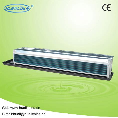 ceiling fan coil price chilled water duct ceiling fan coil unit with return box