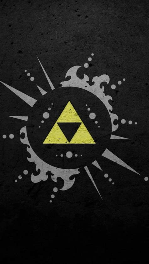 Link Triforce The Legend Of Princess Iphone All Hp Phone Wallpapers Wallpaper Cave