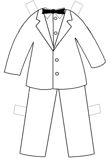 paper doll template with clothes paper doll project
