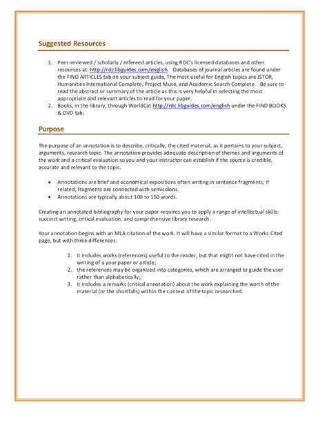 apa format usyd annotated bibliography purpose
