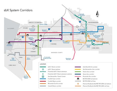 ucr cus map inland empire transit talking points better service between west riverside and san