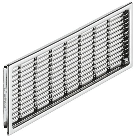 cabinet door ventilation grills ventilation grill plastic slotted in the h 228 fele australia shop