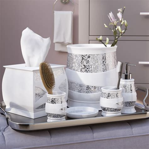 White Bathroom Set by How To Decorate Bathroom Sets Safe Home Inspiration