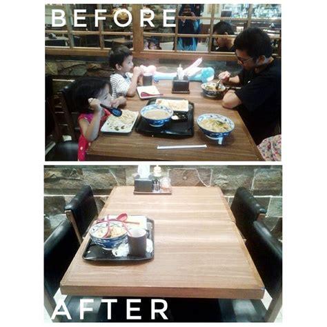 Meja Makan Jakarta ajakan bersihkan meja setelah makan ini jadi viral contoh
