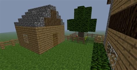 Minecraft Shed by Wooden Home For Minecraft Minecraft Project
