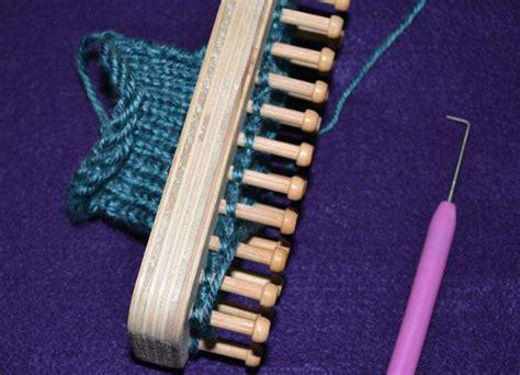 loom knitting needles loom knitting without needles