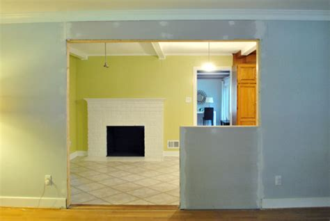 Kitchen Cabinet Moldings And Trim how to trim out a cased opening and a half wall young