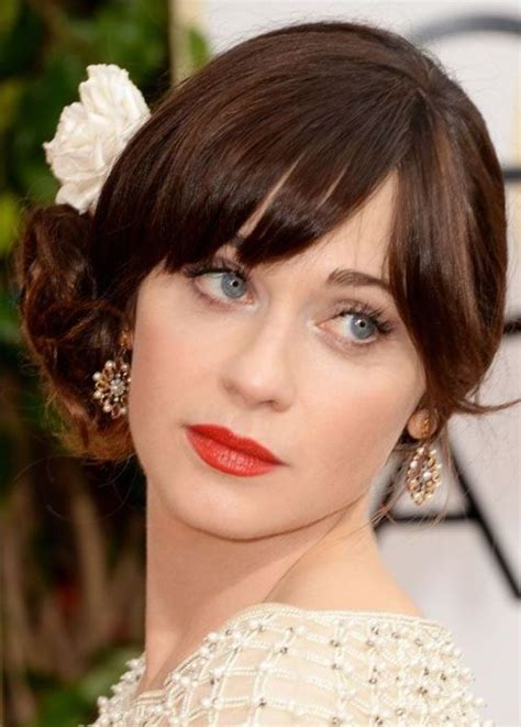 evening hairstyles with bangs 65 prom hairstyles that complement your beauty fave