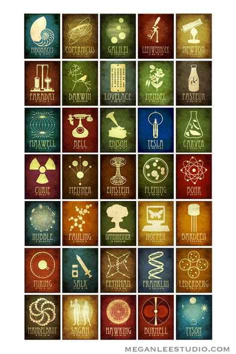 design art science 24x36 science poster 50 designs in one geek chic decor