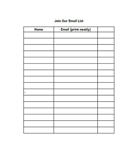 list template excel free name list template world of exle