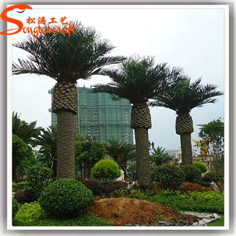 7ft 20ft artificial inflatable palm tree plastic date palm