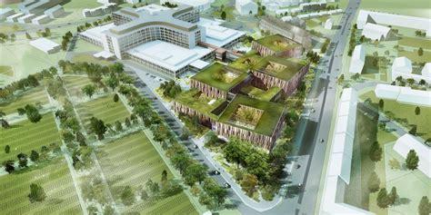 hospital design proposal helsingborg hospital extension winning proposal schmidt