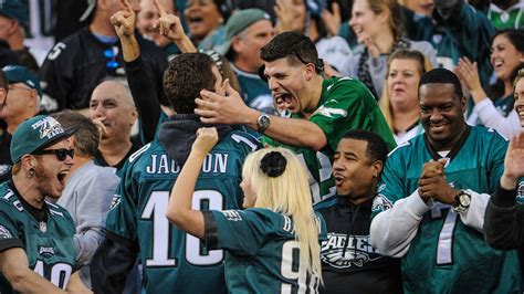 philadelphia eagles fan eagles fans are the most hated in the nfl bleeding green