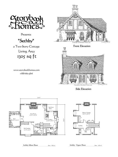 storybook cottage plans sethby houseplan via storybook homes house plans