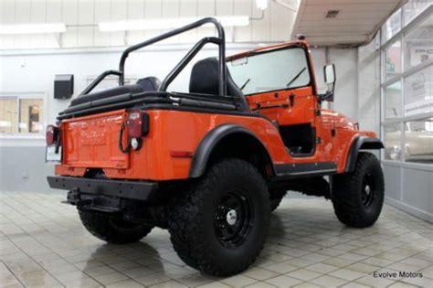 jeep cj5 lift kit sell used jeep cj5 recent restoration lift kit 33