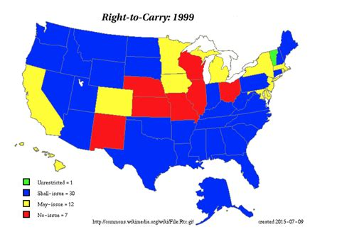 usa carry maps state gun environment and youth gun carrying in the