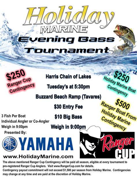 Bass Fishing Tournament Flyer Template