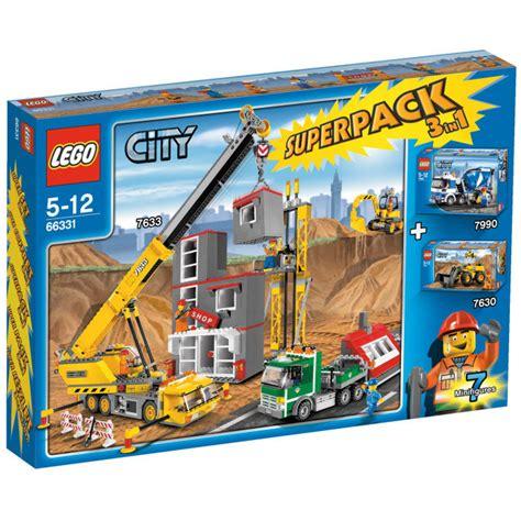 Lego 1 Set lego city pack 3 in 1 set 66331 brick owl lego marketplace