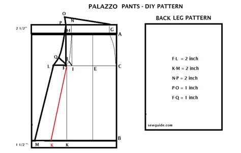 how to make a stencil template how to make palazzo free diy pattern sew guide