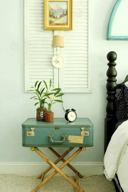 idee comodini fai da te comodino fai da te con vecchia valigia ecco 20 idee