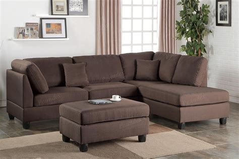 brown sectional with ottoman 20 collection of sectional with ottoman and chaise sofa