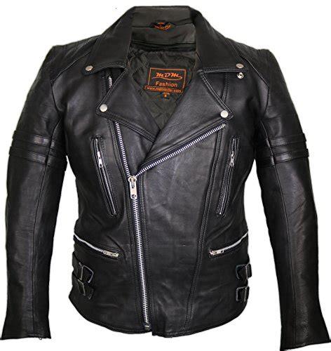 Retro Motorrad Lederjacke 80 S Old School by Mode Von Mdm In Schwarz G 252 Nstig Online Kaufen Bei Fashn De